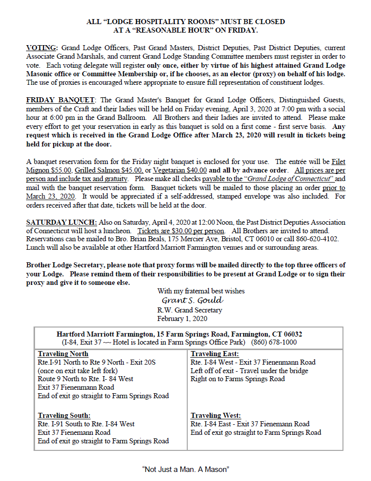 231st Annual Communication-page2